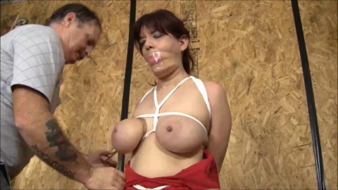 Brendasbound - A Brutal Tapped Out Hogtie For Stephanie Mars