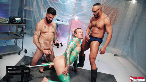 Wrapped - Scene 4 - Dillon Diaz, Alpha Wolfe and Isaac X