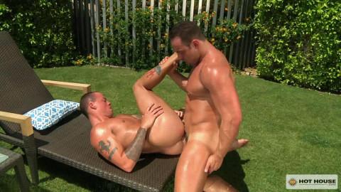Hottest poolside fucking