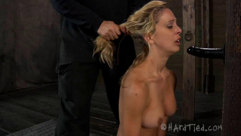 Tight tying, wrist and ankle bondage and ache for hawt hawt golden-haired part 2