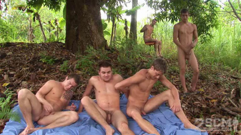 Straight College Men - Tropical Retreat Day 3