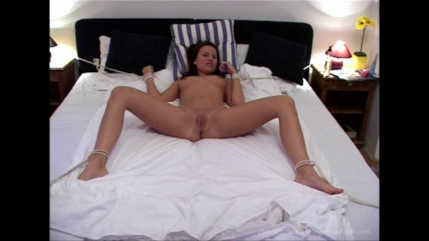 Claudia Rossi Bound Nipps and Twat Teasing - Scene ASS TO MOUTH - HD 720p
