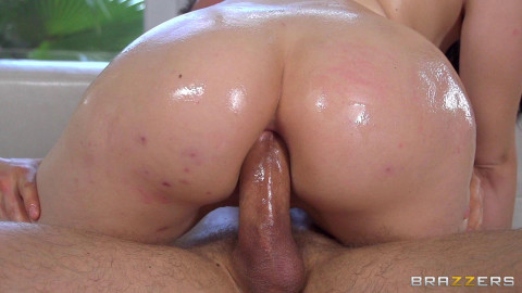 The Guy Is Tempted By Her Hot Juicy Ass