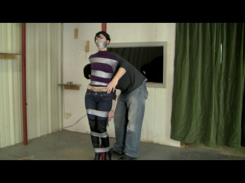 Tape Tied Booted Babe