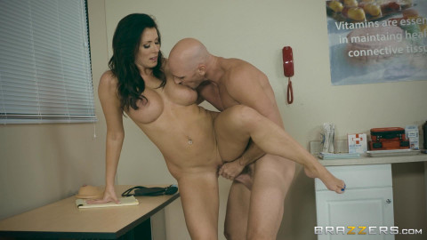 Reagan Foxx, Johnny Sins - My Husband Is Right Outside FullHD 1080p