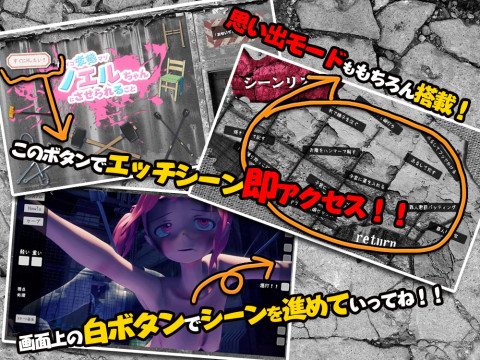 (Flash) What will be made to Noel-chan of psycho metamorphosis masochism