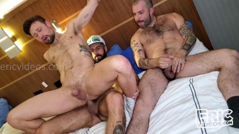 Drew Dixon, Paolo Bianchi and Romeo Davis - Drew like double fuck more excellent