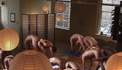 Aaron Stars Hot Nude Yoga - Partner (2005)