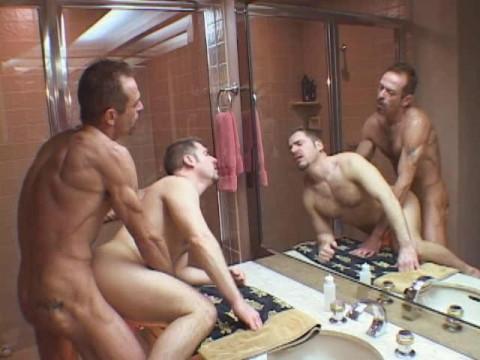 Gangbang with beautiful men