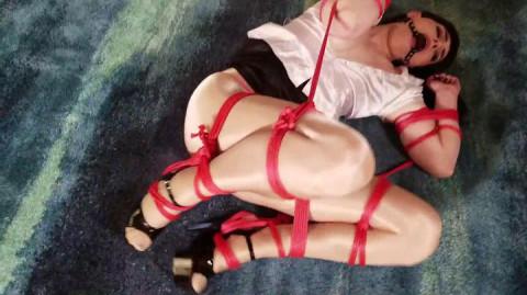 ShinysBoundSluts - Natalie Mars - Lil Piggy Crawling