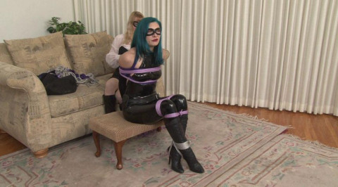 Bdsm HD Porn Videos Sexy Catburglar Captured by Rival