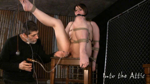 Tre Gets Bound To A Post To Turn Her Straight