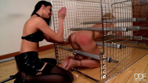 Bondage, spanking and domination for 2 sexy doxies HD 1080p