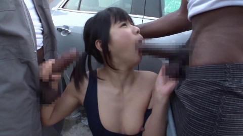 Interracial Gangbang With Creampie For Asian Babe