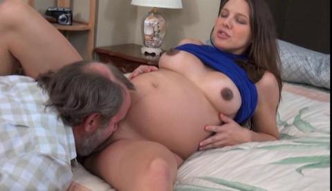 Pregnant happy in the fuck