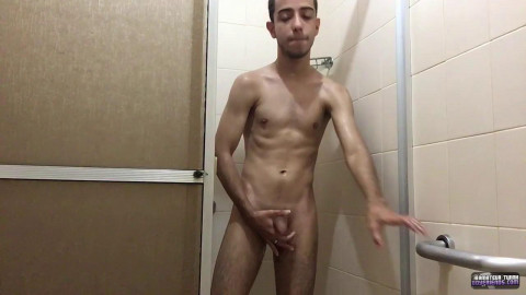 Shower Strokes With Henry Lynes