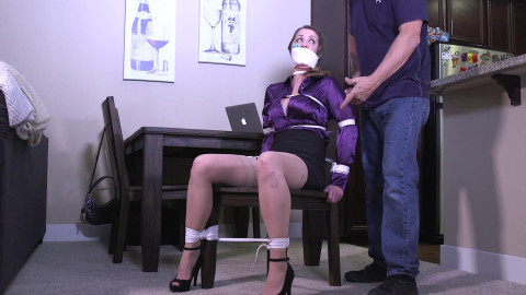 Girls next door restraint bondage - Chrissy Hi wife
