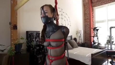 Super bondage, strappado and domination for hot sexy girl Full HD 1080