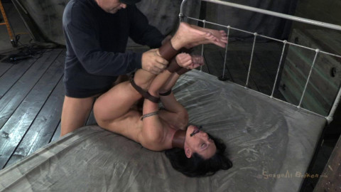SB - Former Collegian Gymnast gets roughly fucked - Wenona - HD