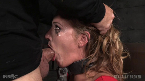Mona Wales - Shackled succubus skullfucked without mercy by relentless dick (2015)