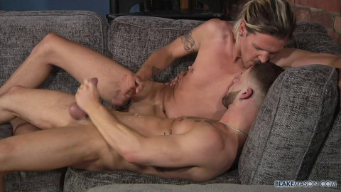 Charlie Grey and Koby Lewis - Charlie Fills Koby With Cock