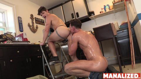 Manalized Cade Maddox & Devin Franco - Repairmans Dick