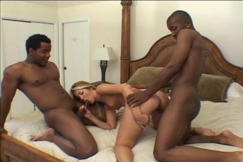 Young Slut Hungers For Big Black Cocks