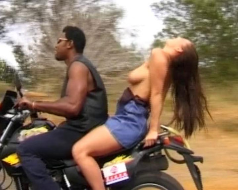 Interracial sex ride