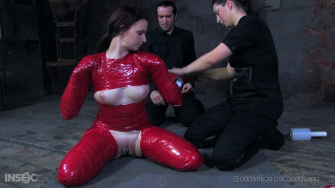 RealTimeBondage - Claire Adams - Duct fuct doll Part 1
