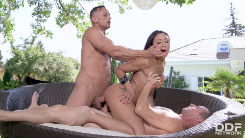 Slave to DOUBLE PENETRATION