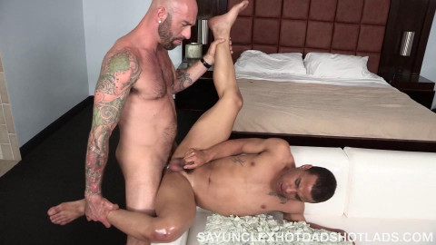 Drew Sebastian and Trelino