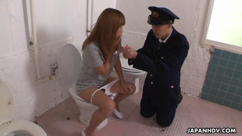Anna Kirishima  Secret Prison scene9