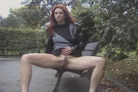 Piss in a public place