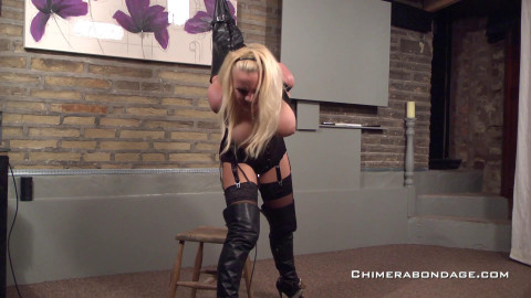 Leather armbinder (2015)