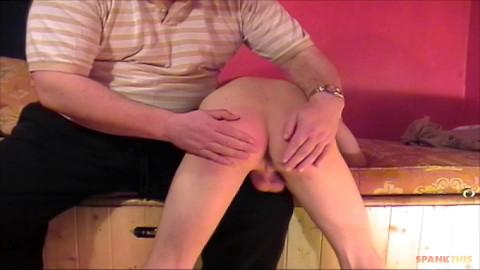 SpankThis Spring Training Spank sc.5 - Daddy Darby spanks Kirk