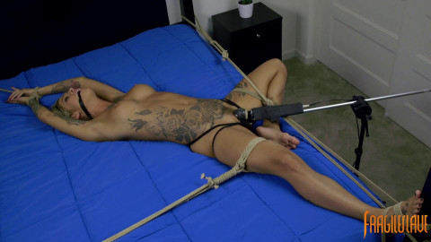 Uncontrollable Orgasms, Spread, and Helpless