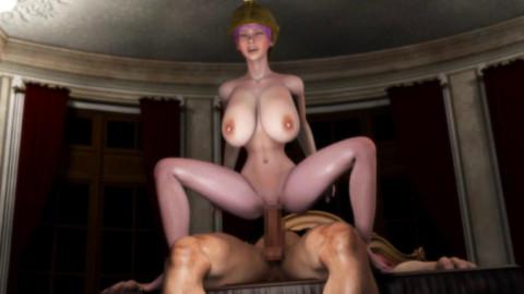 Rebecca Assault Hell - Gladiator of Treason - 3d HD Video
