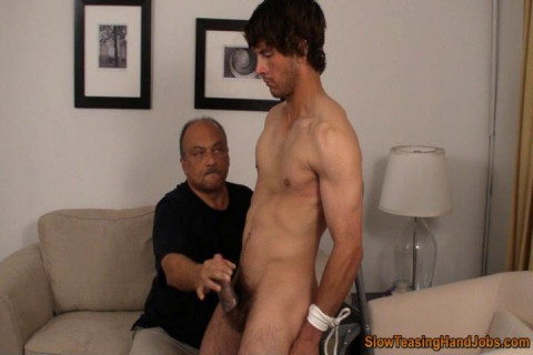 College Guy Tied and Teased