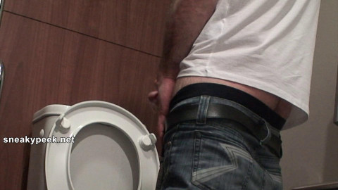 This is one obscene and hot fucker! He sits down for a dump