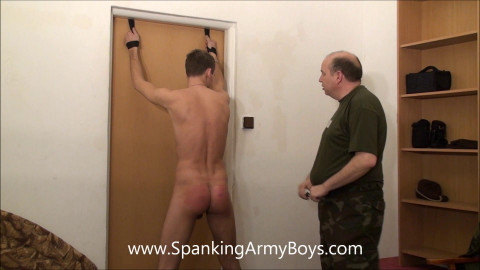 SpankingArmyBoys - 0027 Army - Justine - Punishment booty aperture