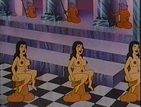 Erotic cartoon collection