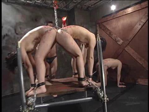 Lesbians torture
