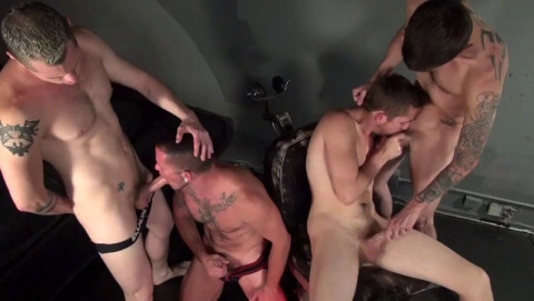 Cum-dripping a-hole fucking