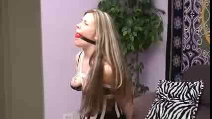 Youd see her moving over and over to loosen the rope