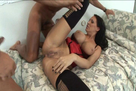 Sexy Mandy Bright Skewered At Both Ends