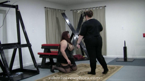 Collection of PAIN PLAY Scenes Submissive Sephora (2010–2011) part 2