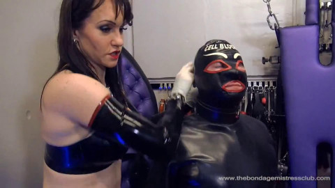 Hard tying, strappado and castigation for sexy hot golden-haired