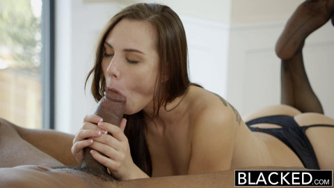 Young Pretty Girl Takes His Big Cock