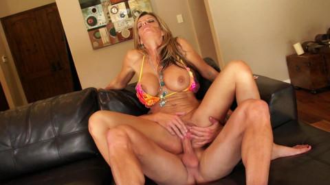 Sexy mom banged hard
