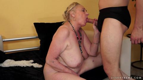 Cock-obsessed Grandma Sila